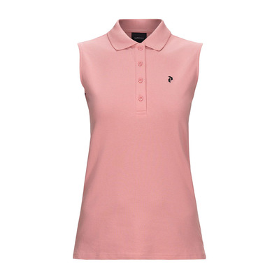 PEAK PERFORMANCE - CLAPIQ - Polo - Women's - warm blush