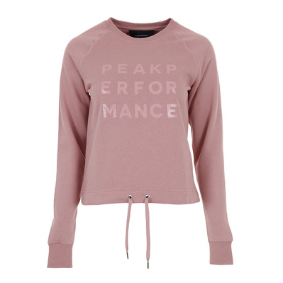 PEAK PERFORMANCE - GROUND - Sudadera mujer dusty roses