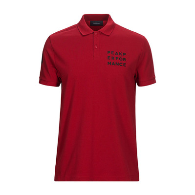 PEAK PERFORMANCE - GRO 1 - Polo hombre chilli pepper