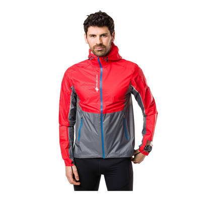 RAIDLIGHT - TOP EXTREME MP+ - Chaqueta hombre red/grey