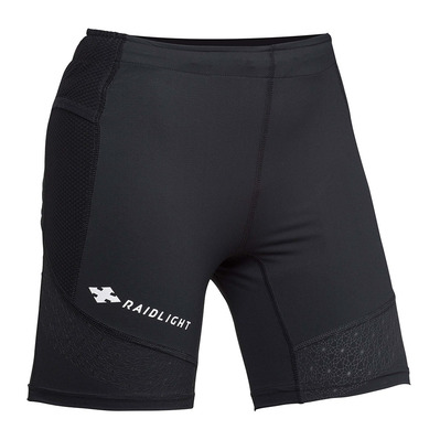 RAIDLIGHT - STRETCH RAIDER - Mallas cortas mujer negro