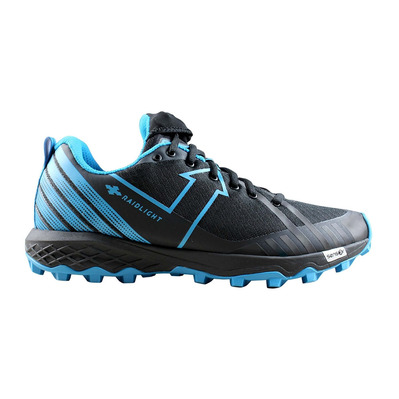 RAIDLIGHT - RESPONSIV DYNAMIC - Trail Shoes - Men's - black/blue