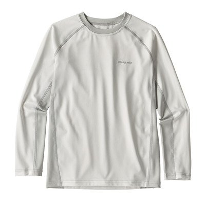 PATAGONIA - SW RASHGUARD - Rashguard Junior white/tailored grey