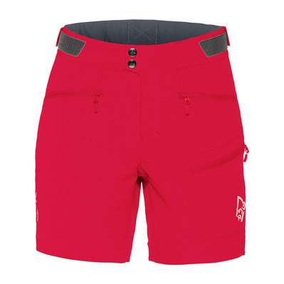 NORRONA - Shorts - Women's - FALKETIND FLEX™1 jester red