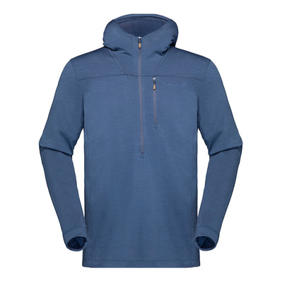 NORRONA - SVALBARD WOOL - Sweat Homme indigo night