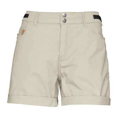 NORRONA - SVALBARD LIGHT COTTON - Short mujer sandstone