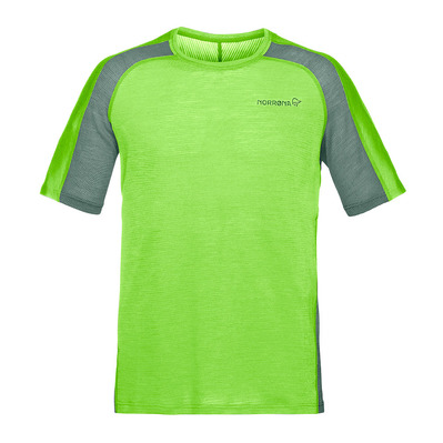NORRONA - SS T-Shirt - Men's - BITITHORN WOOL bamboo green