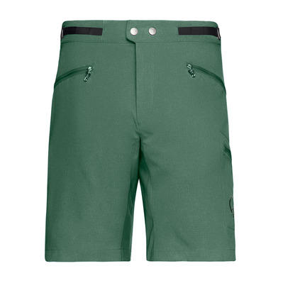 NORRONA - BITIHORN FLEX - Short hombre jungle green