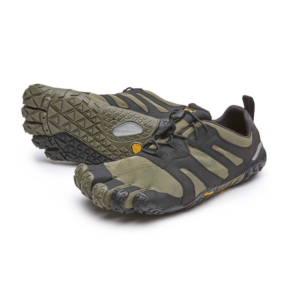 FIVE FINGERS - Vibram Five Fingers V-TRAIL 2.0 Homme Lierre/noir