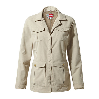 CRAGHOPPERS - LUCCA - Chaqueta mujer desert sand