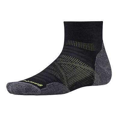 SMARTWOOL - PHD OUTDOOR LIGHT MINI - Chaussettes black
