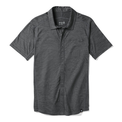 SMARTWOOL - MERINO SPORT 150 BUTTON DOWN - Shirt - Men's - medium gray heather