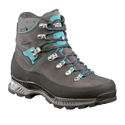 MEINDL - ISLAND MFS ROCK GTX - Hiking Shoes - Women's - anthracite/turquoise