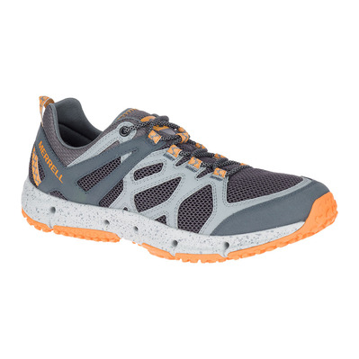 MERRELL - HYDROTREKKER - Hiking Shoes - Men's - flame orange