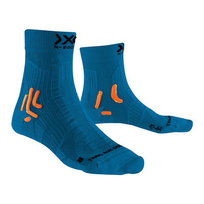 X-SOCKS - TRAIL ENERGY - Calcetines azul/naranja