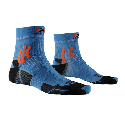 X-SOCKS - TRAIL ENERGY - Chaussettes bleu/orange