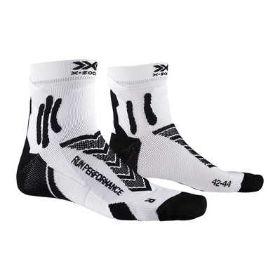 X-SOCKS - RUN PERFORMANCE - Calcetines negro blanco