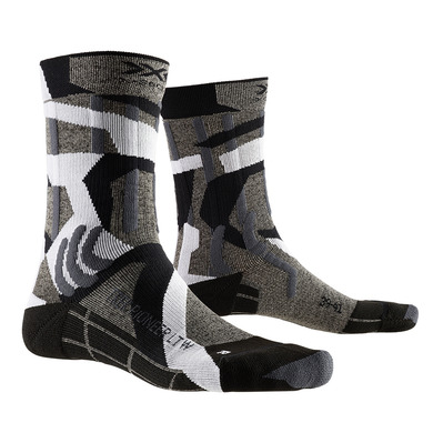 X-SOCKS - TREK PIONEER LIGHT - Socks - grey/camo