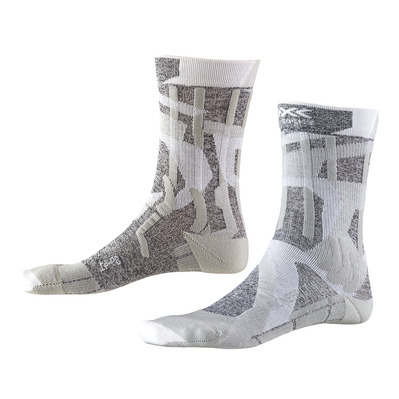 X-SOCKS - TREK PIONNER LIGHT - Calcetines mujer gris/camo