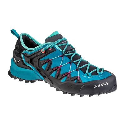 SALEWA - WILDFIRE EDGE - Approach Shoes - Women's -malta/vivacious