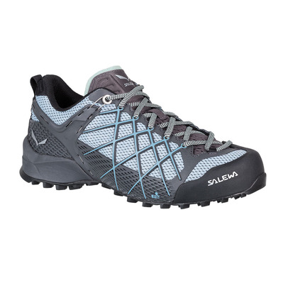 SALEWA - WILDFIRE - Approach Shoes - Women's - magnet/blue fog