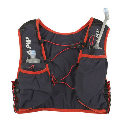 CAMP - TRAIL FORCE 5L - Sac d'hydratation gris/rouge