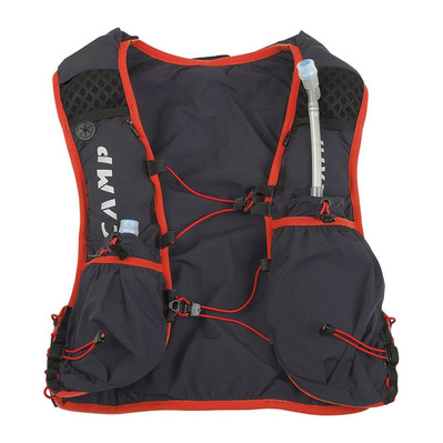 CAMP - TRAIL FORCE 10L - Sac d'hydratation gris/rouge