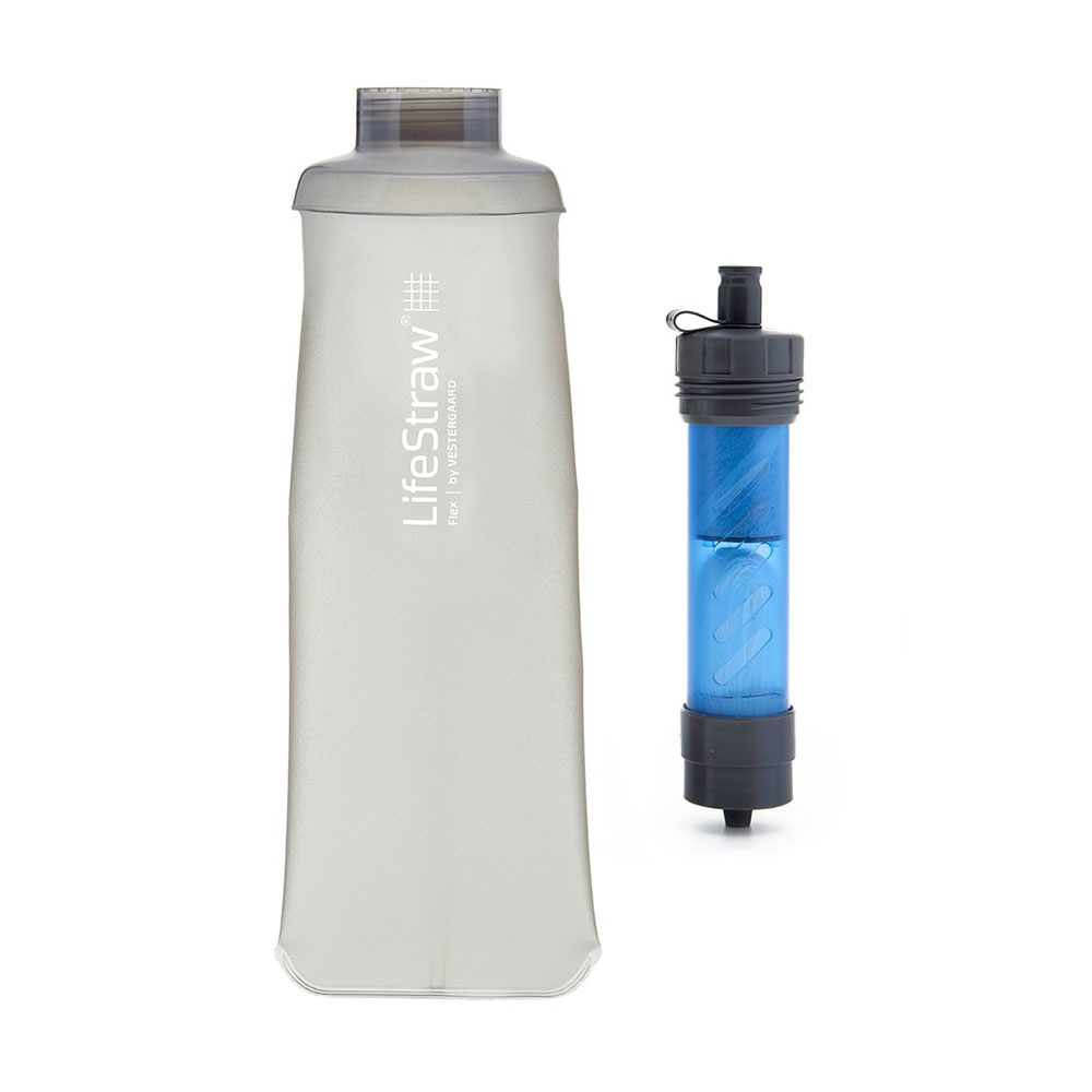 LIFESTRAW - LIFESTRAW FLEX BASIC filtre + gourde/ Lifestraw Flex Basic KIT Unisexe