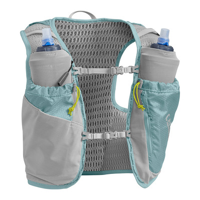 CAMELBAK - ULTRA PRO 7L - Sac d'hydratation + Flasque x2 Femme aqua sea/silver