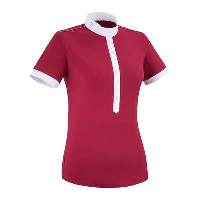 HORSE PILOT - AEROLIGHT - Show Polo Shirt - Women's - ruby
