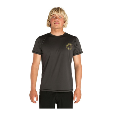 RIP CURL - SS T-Shirt - Men's - COMPASS dark grey