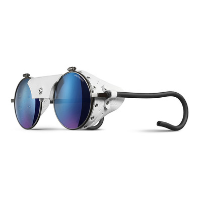 JULBO - VERMONT - Sunglasses - gun white/multilayer blue