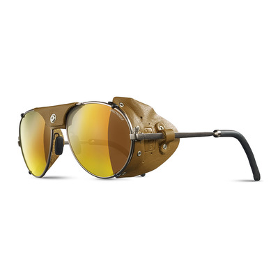 JULBO - CHAM - Gletscherbrille messing/rehbraun - multilayer gold verspiegelt