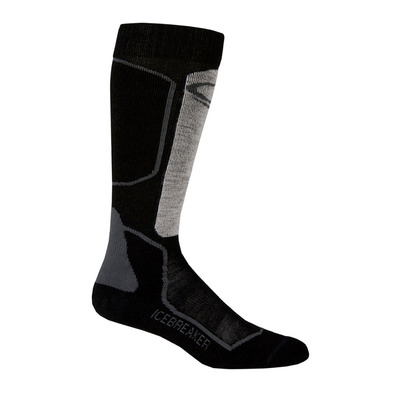 ICEBREAKER - SKI+ LIGHT OTC - Socks - Men's - oil/black/silver