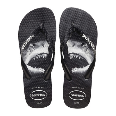 HAVAIANAS - TOP PHOTOPRINT - Tongs Homme black/black/grey