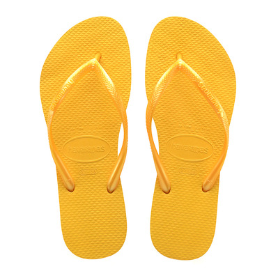 HAVAIANAS - SLIM - Flip-Flops - Women's - banana yellow