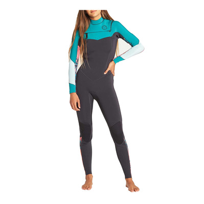 BILLABONG - LS Full Wetsuit - 3/2mm Women's - SALTY DAYZ CZ palm green