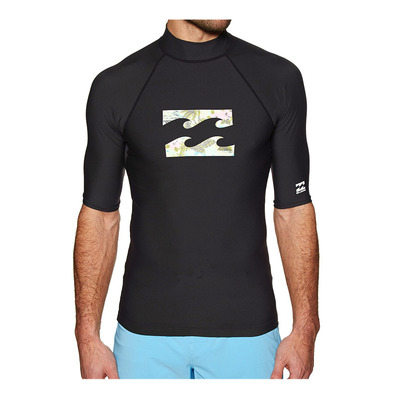 BILLABONG - TEAM WAVE - Rashguard Homme black