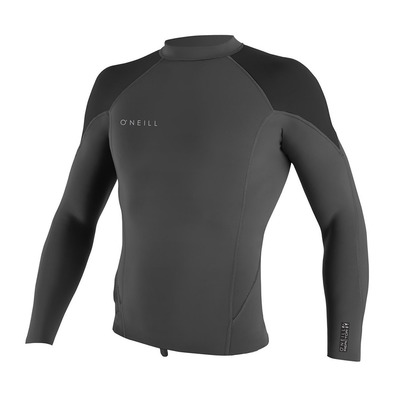 O'NEILL - LS Neoprene Top 1.5mm - Men's - REACTOR-2 graphite/black/ocean