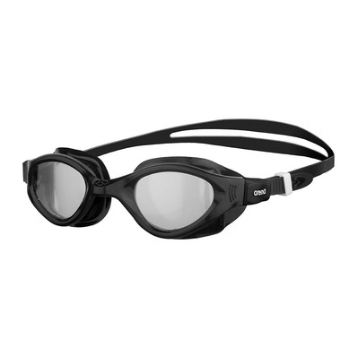 ARENA - CRUISER EVO - Swimming Goggles - clear black/black