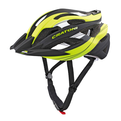 CRATONI - C-TRACER - Casque vtt lime/black rubber