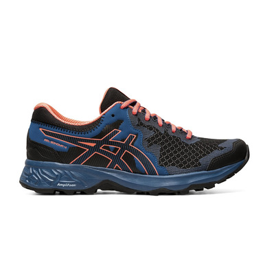 ASICS - GEL-SONOMA 4 - Chaussures trail Femme black/sun coral