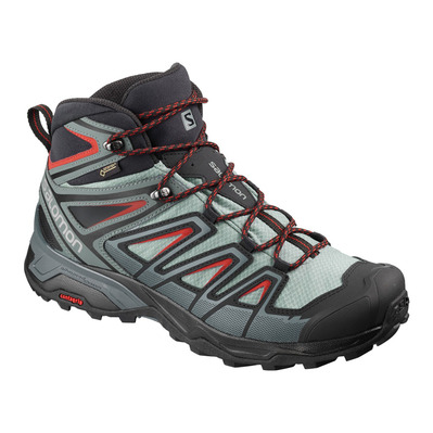 SALOMON - X ULTRA 3 MID GTX - Hiking Shoes - Men's - lead/stormy weather/bossa nova