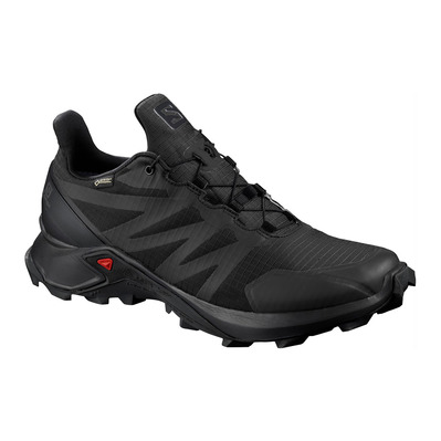 SALOMON - SUPERCROSS GTX - Chaussures trail Homme black/black/black