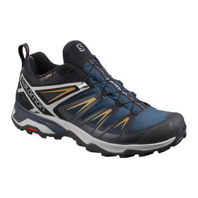SALOMON - X ULTRA 3 GTX - Hiking Shoes - Men's - sargasso sea/dark sapphire/bistre