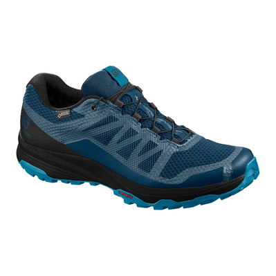 SALOMON - XA DISCOVERY GTX - Trail Shoes - Men's - poseidon/black/fjord blue