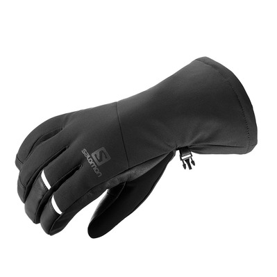 SALOMON - PROPELLER LONG - Gloves - Men's - black/black