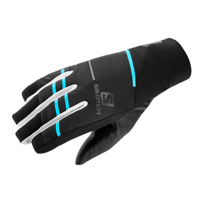SALOMON - RS PRO WS - Gloves - black/wht