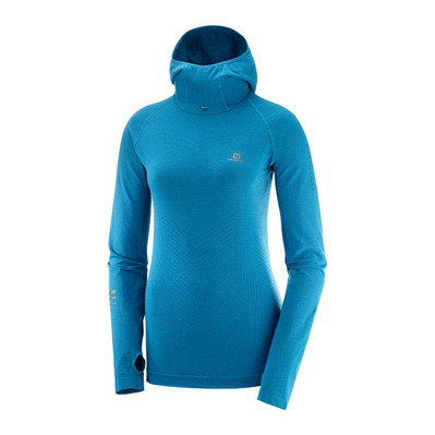 SALOMON - LIGHTNING PRO - Sweat Femme lyons blue
