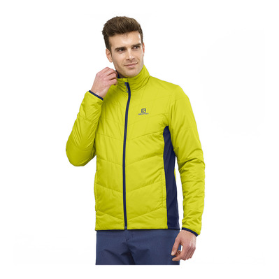 SALOMON - DRIFTER MID - Jacket - Men's - citronella/night sky